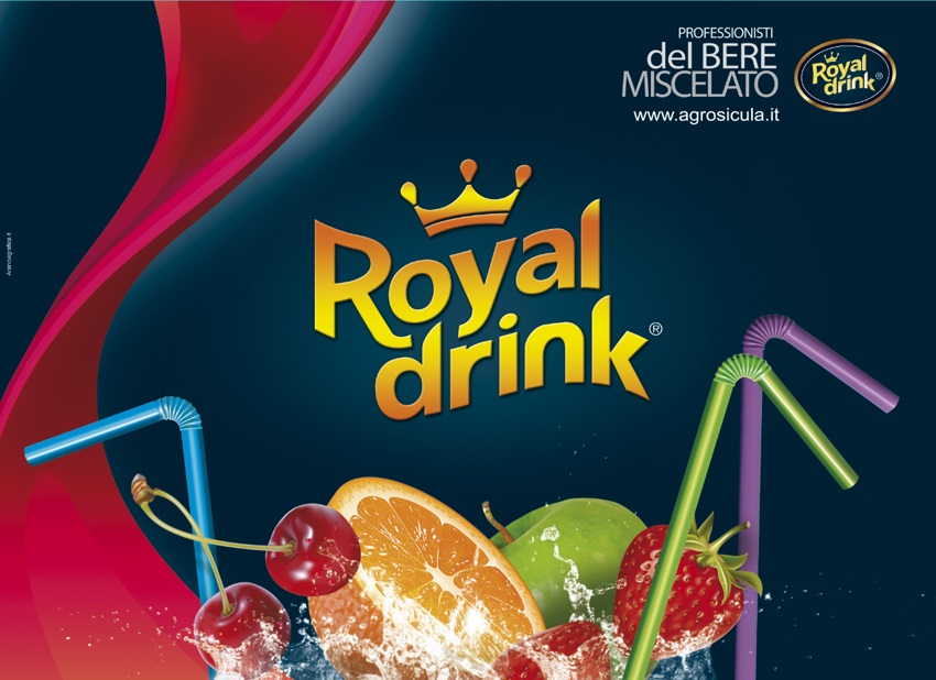 Puree di frutta per frozen royal drink